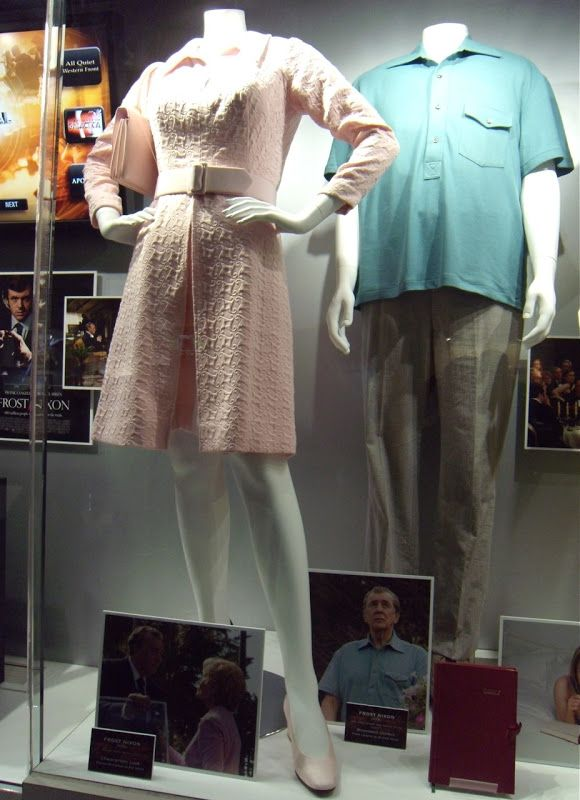 Actual Frost Nixon film outfits
