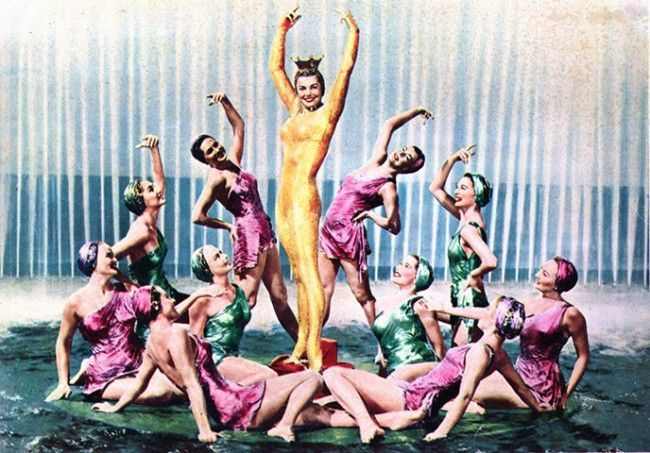 esther williams synchronized swimming | Esther Williams Million Dollar Mermaid A former competitive swimming ...