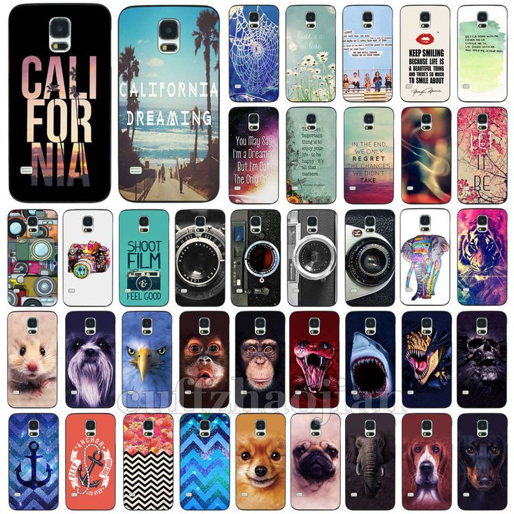 Animal Scenery Retro Style Hard Back Skin Case Cover For Samsung Galaxy S3 S4 S5