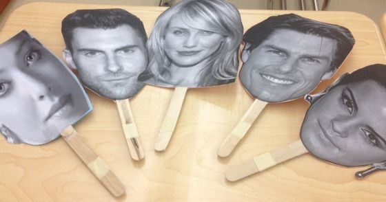 Teaching Spanish w/ Comprehensible Input: Celebrity Masks