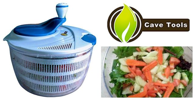 Reviews, Chews & How-Tos: Review: Cave Tools Salad Spinner (15% Discount Cod...