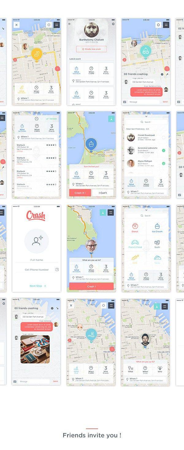 Map App Design Concept 2