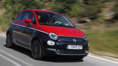 New FIAT 500 MJT 1.3 by drive.gr