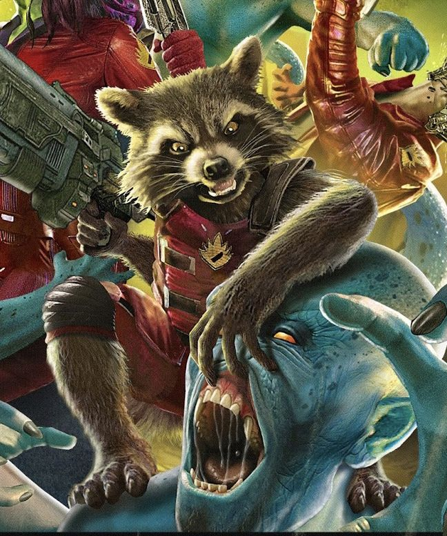 Pin by David Swearingen on Comic book Art | Rocket raccoon