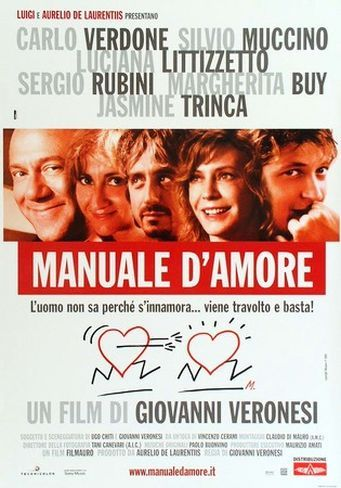 Manuale d'amore(2005).- Four intertwined episodes on the joys and sorrows of love.