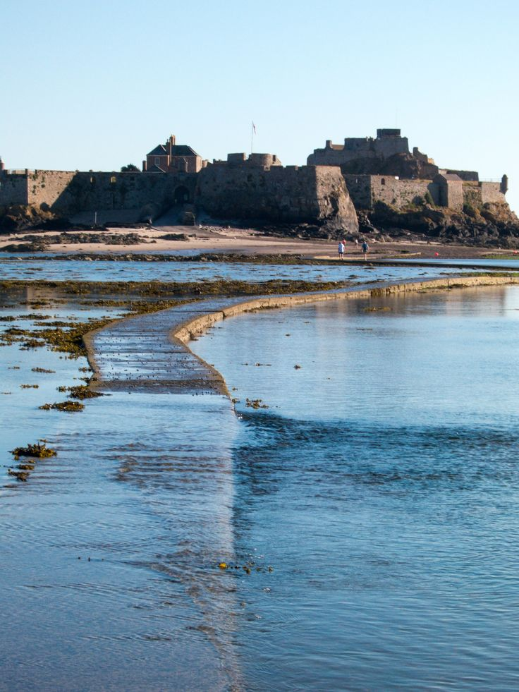 Elizabeth Castle, St Helier, Jersey.
