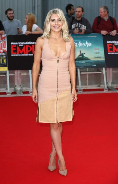 """Mollie King Photos Photos - Mollie King arrives for the Empire Live: """"Swiss Army Mam"""" & """"Imperium"""" double bill gala screening at Cineworld 02 Arena on September 23, 2016 in London, England. - Empire Live: 'Swiss Army Mam' & 'Imperium' - Double Bill Gala Screening - Red Carpet Arrivals"""