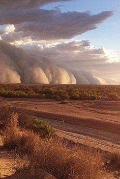 Australia Desert Dust Storm