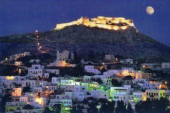"""Leros Island, Greece Looks beautiful - Like the """"New Jerusalem"""" - A little bit of Heaven descending from the sky!!"""