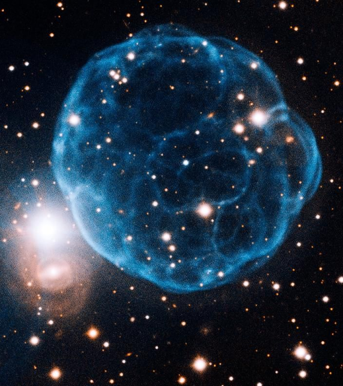 The nebula Kronberger 61.