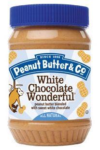 Peanut Butter and Co. White Chocolate Wonderful Flavored - #dairyfree #vegan #glutenfree