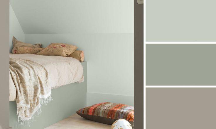 Quelle couleur de peinture pour une chambre cuisine et - Quelle couleur pour chambre ...