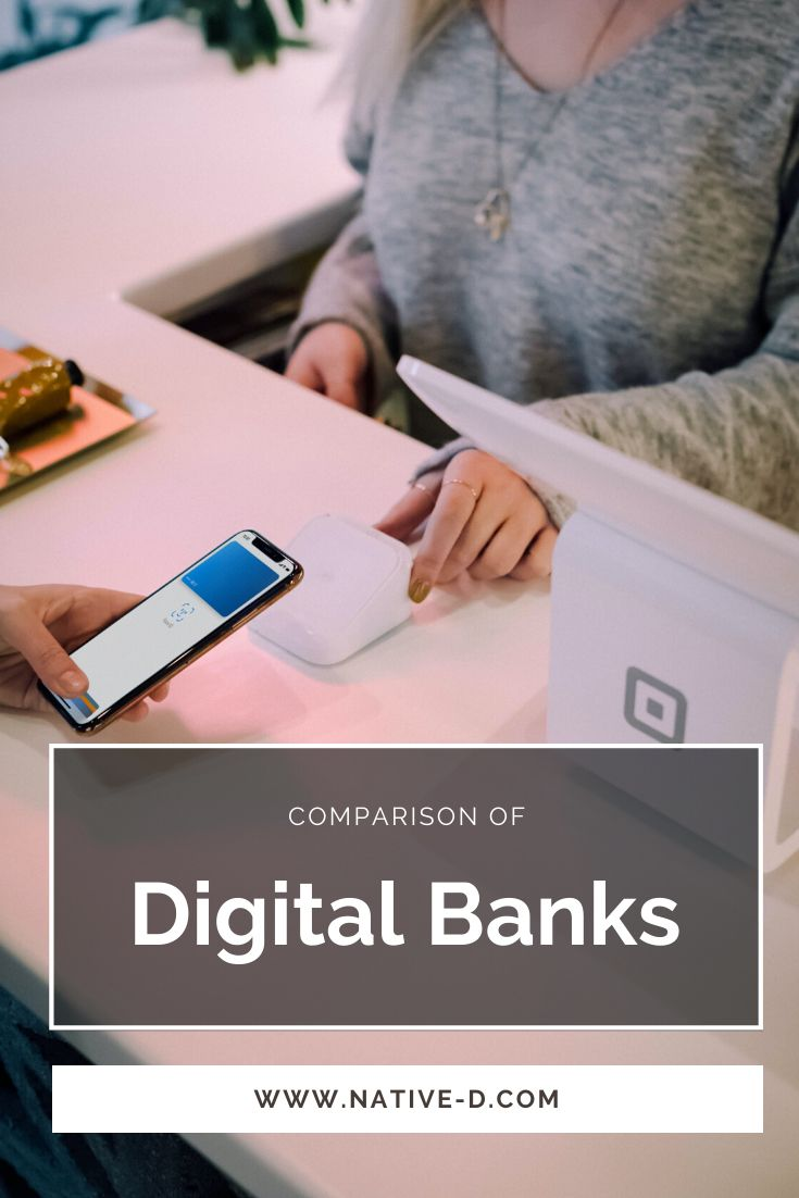 Comparison Of Digital Banking Apps Sebastian Kaiser In 2020 Personal Budget Banking Budget Help