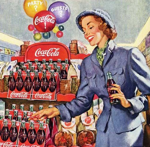 Designed for Hospitality - Coca Cola - 1949