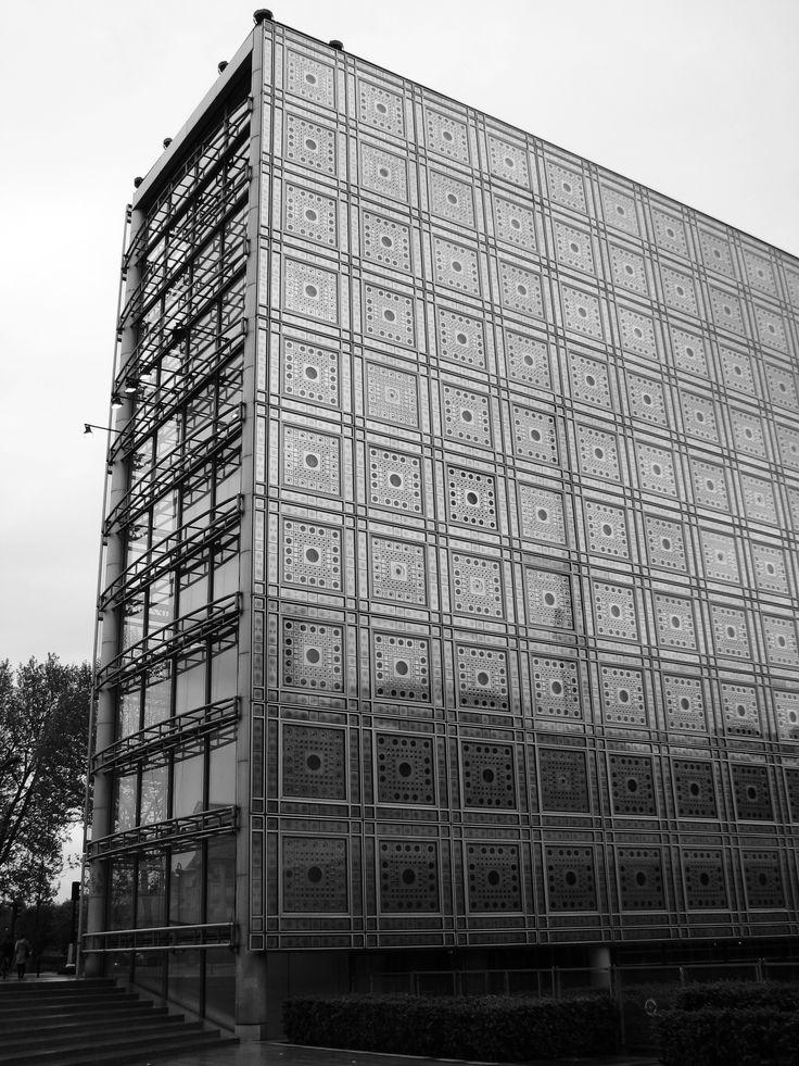 AD Classics: Institut du Monde Arabe / Jean Nouvel, Architecture-Studio, Pierre Soria and Gilbert Lezenes