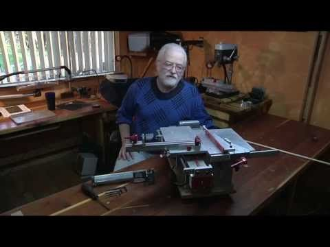 Most Accurate Small Table Saw in the World by Fred Brinks - YouTube