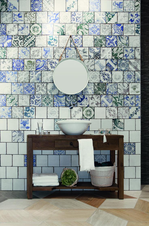 Best Feature Bathroom Walls Images On Pinterest Devon Devon - Slip resistant tiles bathroom for bathroom decor ideas