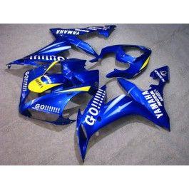 Yamaha YZF-R1 2004-2006 Injection ABS Fairing - GO!!!!! - Blue | $639.00