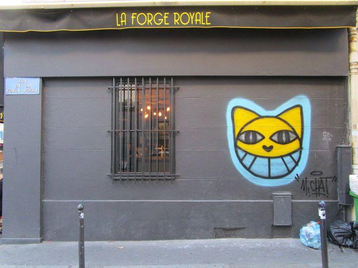 M. CHAT, Rue de La Forge Royale 75011, France, 2015