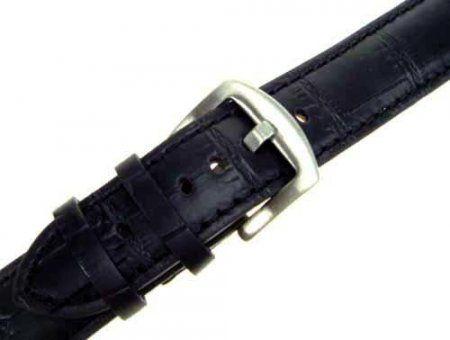 Läderarmband Svart - 20mm