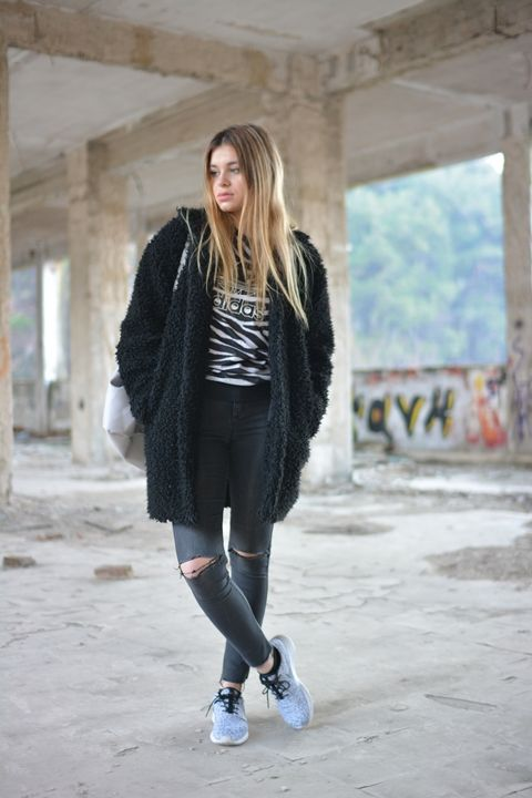 Zebra Print  #fashion #outfit #outfits #beauty #bloggers #priestessofstyle #style #fashionpost #fashionblogger #priestess  #jeans   #shoes   #nike  #backpack #coat  #greece   #greek   #blondehair  #girl