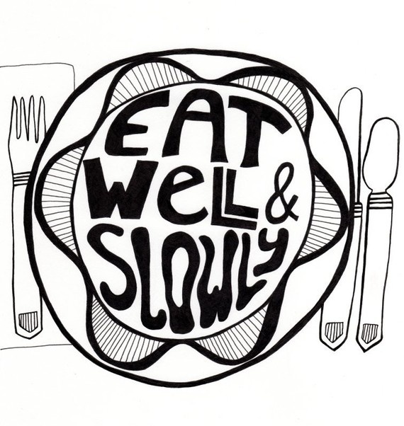 Eat Well & Slowly Wall - we love this! So important with the #Gastric Sleeve Diet!