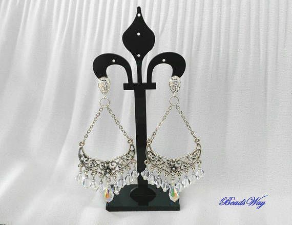 Earrings Swarovski/Earrings cristall/Earrings