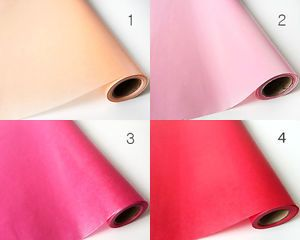 Roll-Waxed-Paper-53cm-x-18M-Flower-soap-bakery-cookie-food-wrapping-paper