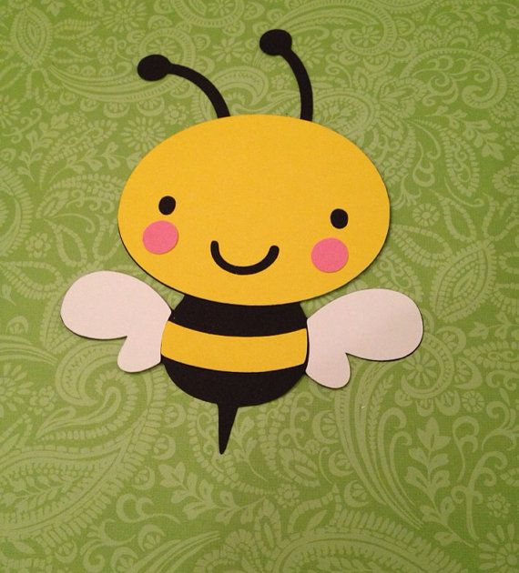 Bumble Bee Centerpiece for Baby Shower on Etsy, $2.00