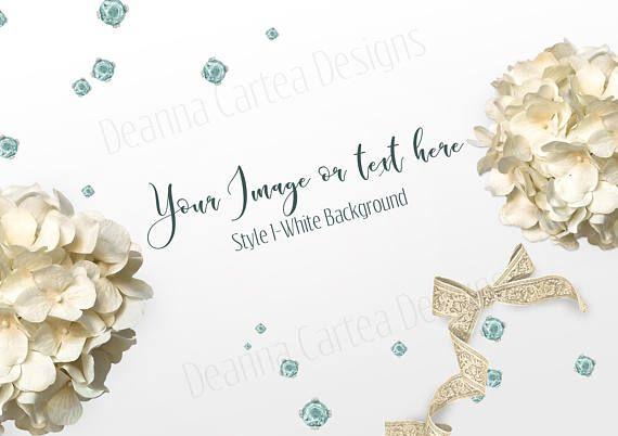 Mockup style stock image floral mock up mock up stationery