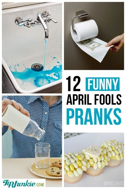 12 Funny Pranks For April Fool's Day