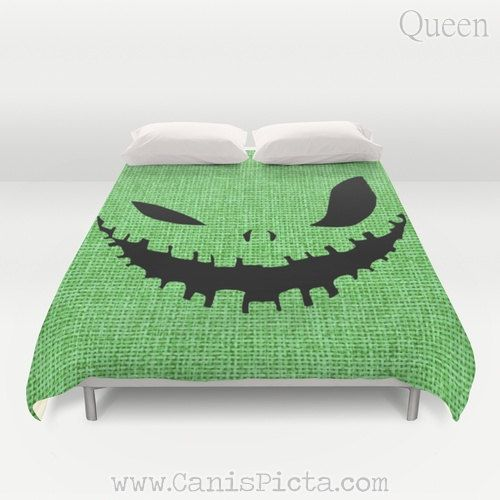 Duvet Cover Oogie Boogie Man Nightmare Before by CanisPicta