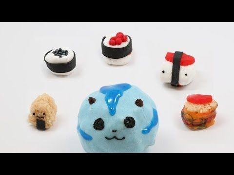 SUSHI CAT CANDY SUSHI - QnB - YouTube