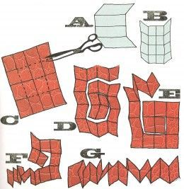 how to make an accordion book / cómo hacer un libro de acordeón