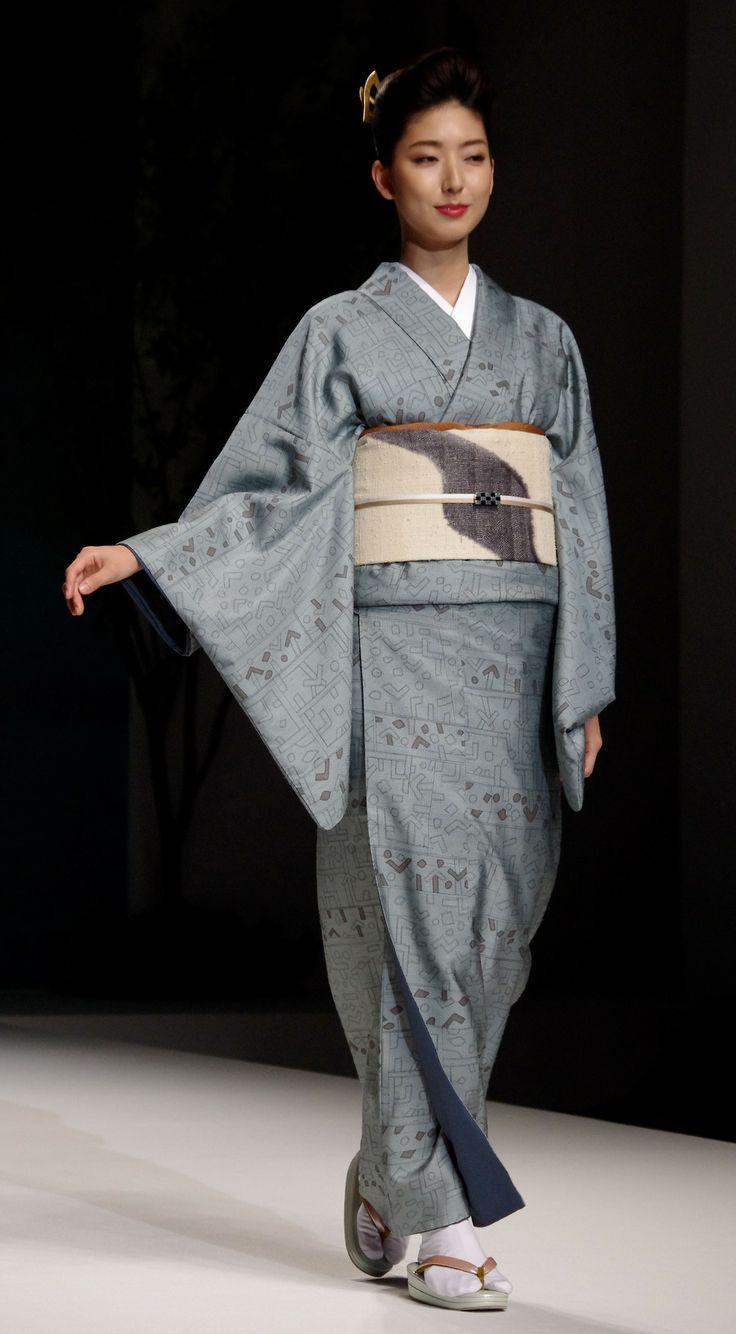 Kimono 4: Yukiko Hanai designed Spring/Summer 2012 Collection. Tokyo, Japan.