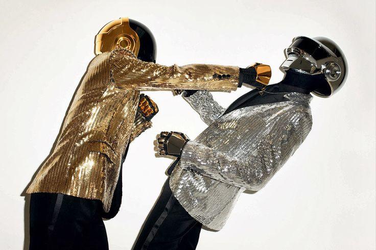 Terry Richardson - Les Daft Punk,  Wall Street Journal