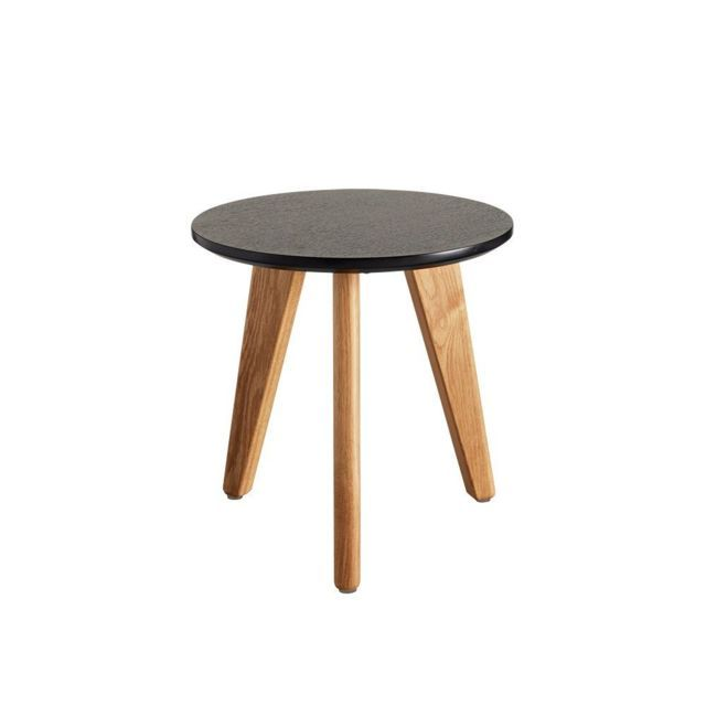 Inside 75 Table Basse Design Nordic Taille S Coloris Chene Wenge