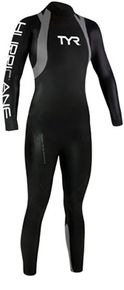 Both TYR and Andy Potts found it important to offer a wetsuit for an aspiring competitor. With that goal in mind, the Category 1 was made. The simplistic, streamline version of the Hurricane offers the benefit of maximized performance and no fear of extre