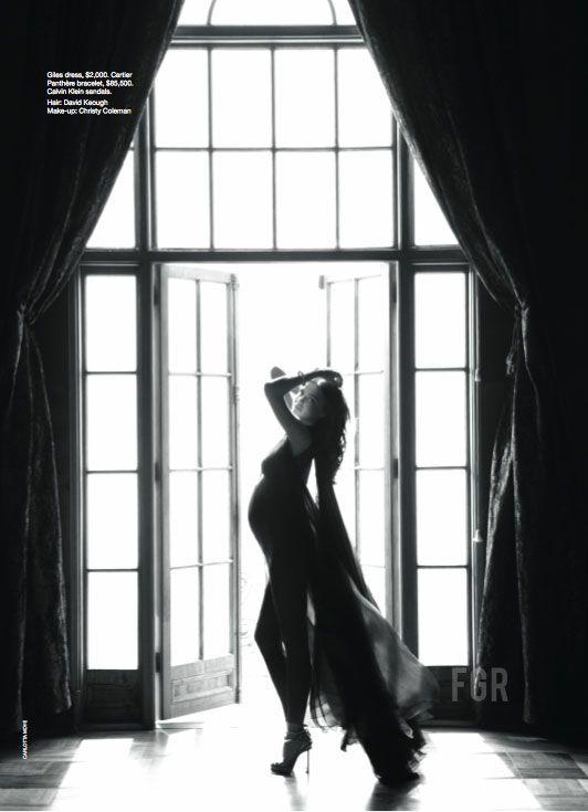 Miranda Kerr by Carlotta Moye for Vogue Australia January 2011