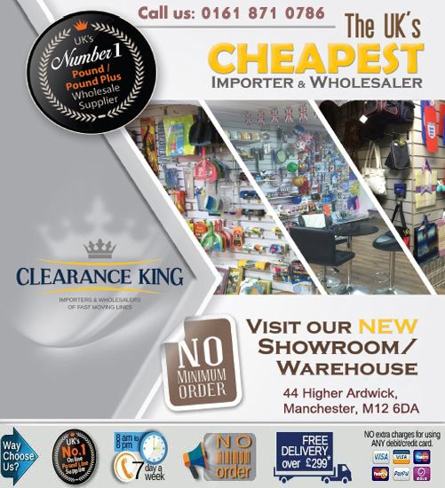 Purchase quality E-Cigarette products from best UK pound line company #Clearance_King