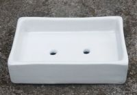 Code : SP64-002 Name : Square soap dish with two hole