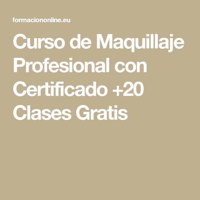 Curso de Maquillaje Profesional con Certificado +20 Clases Gratis