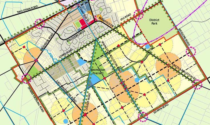 Rolleston Structure Plan