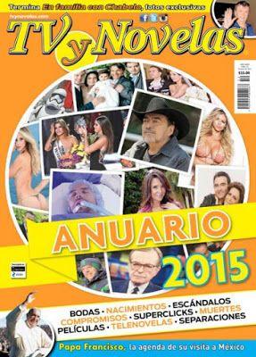 Revistas PDF En Español: Revista TVyNovelas México - 28 Diciembre 2015 - PD...