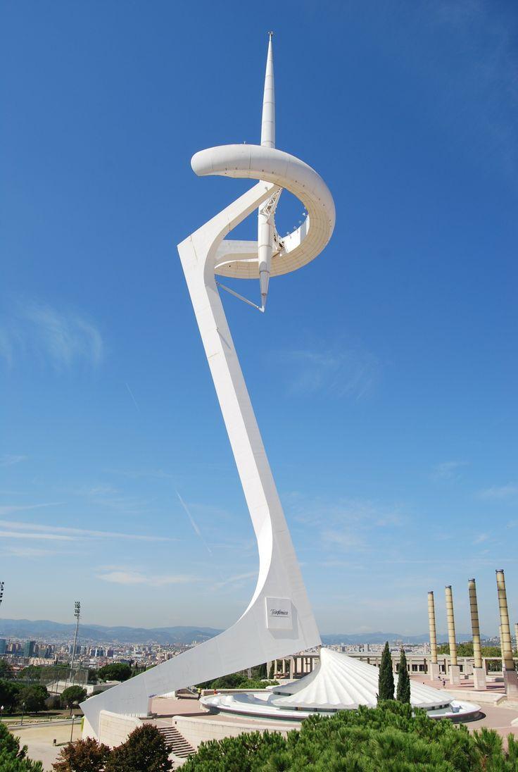 Montjuic Communications Tower, Barcelona, Spain