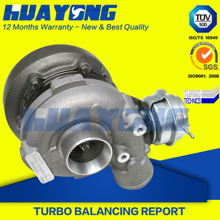 NEW Turbocharger GT2256V 700935 Turbo Charger Complete Turbo for BMW X5 3,0 d E53 (2000-2003) 184 HP B8