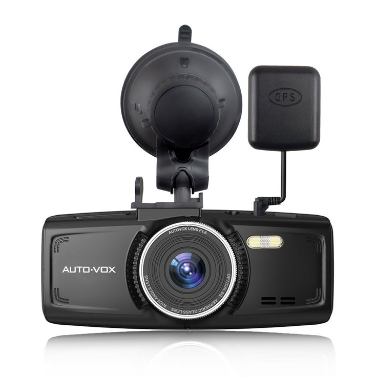 AUTO-VOX D1 Dash Cam With GPS 2.7-Inch LCD FHD 1080P Dashboard Camera For Cars with Night Vision G-Sensor Loop Recording Free 32G Mirco Card