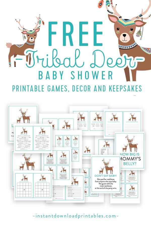Instant Download Shower Keepsake Template Keepsake Baby Shower Bundle Baby Shower Keepsake Package Printable Baby Shower Keepsake