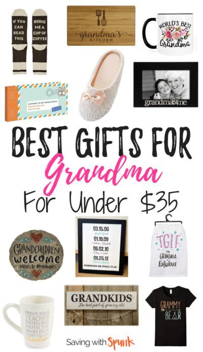 Best Gifts for Grandma. Grandma gift ideas for the quirky gift giver!  sc 1 st  Pinterest & Best Christmas Gifts for Grandma Under $35 | Gift Ideas | Grandma ...