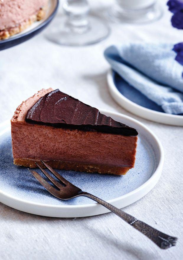 Kakaocheesecake med chokoladeganache | ISABELLAS